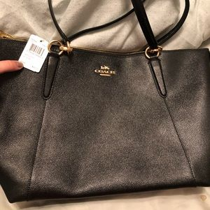Brand new never used leather coach purse